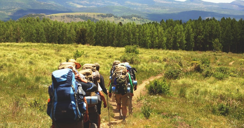 renting gear for backpacking trip