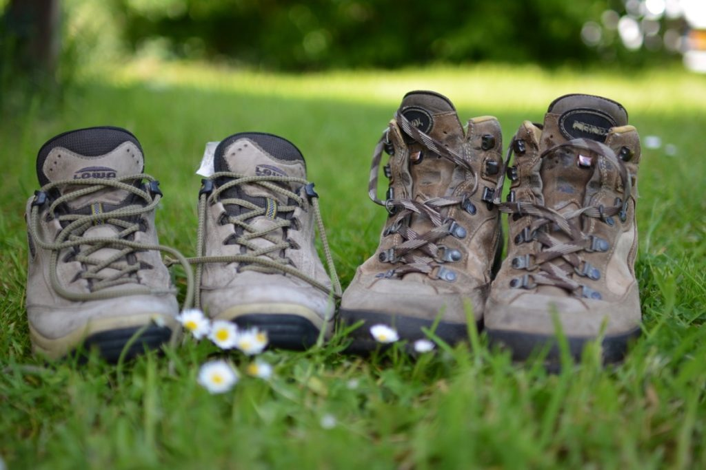 hiking boots come in a variety of functions
