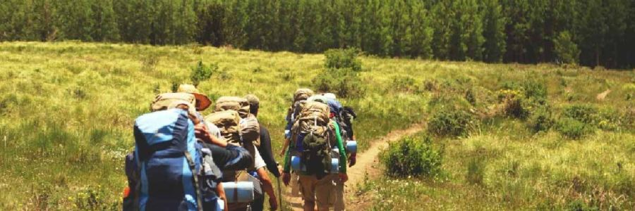 thru-hiking requires ever increasing caloric needs. it is difficult to fast when thru-hiking.