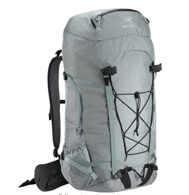 Arcteryx Alpha AR 55 Mens recommended Backpack