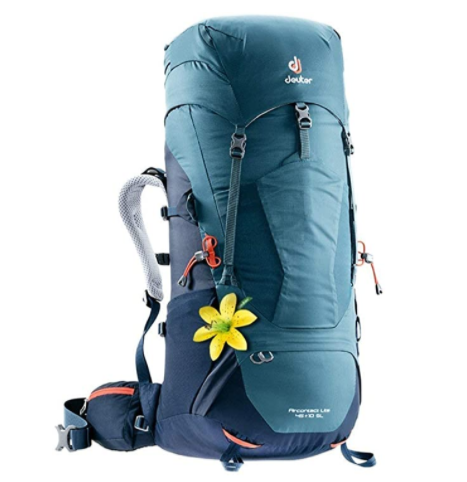 Deuter Aircontact 45 + 10 Womens recommended backpack