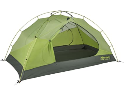 Marmot Cane Creek 2-Person Tent, one of many beginner tents!