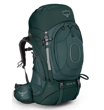 Osprey Xena 70 womens recommended backpack
