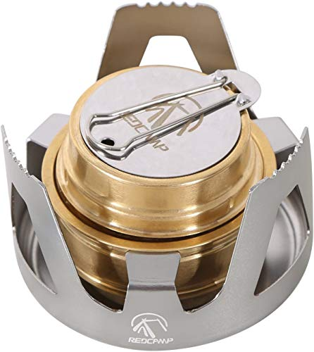 RedCamp Mini Alcohol Stove, inexpensive backpacking stoves