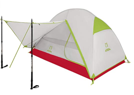 while an ultralight backpacking tent weighs less it provides comfort at the end of a long day.