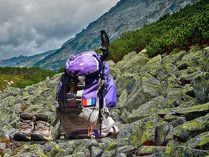 REI rents backpacking equipment