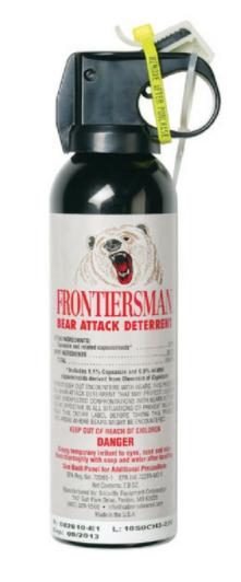 bear deterrent spray as an example