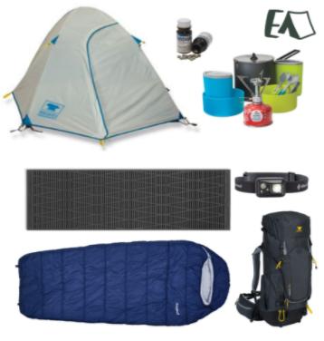 Effortless Adventure 1-Person Backpacking Rental Package