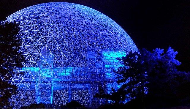 biosphere geodesic dome