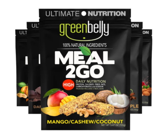 Super high calorie meal from Greenbelly