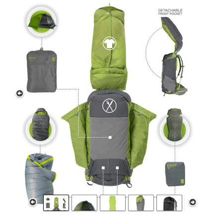 Outdoor Equipment Rentals Backpacking Package