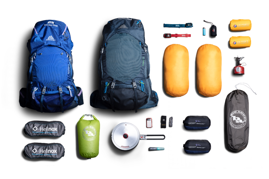Xscape Pod Backpacking Rental Package